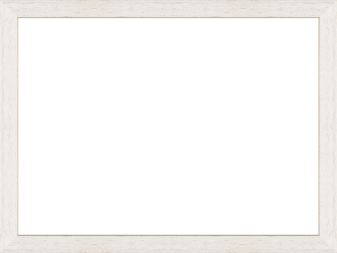 Individueller Bilderrahmen Modell Riga Farbe Landhausstil Weiß