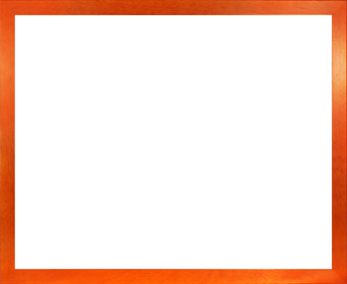 Massivholz Foto-Rahmen Stralsund Sonderformat Orange