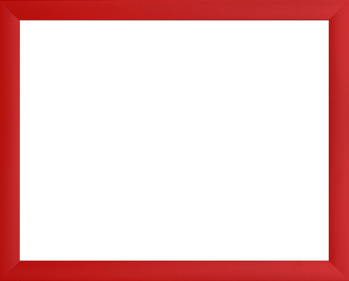 Individueller Bilderrahmen Modell Pisa Rot