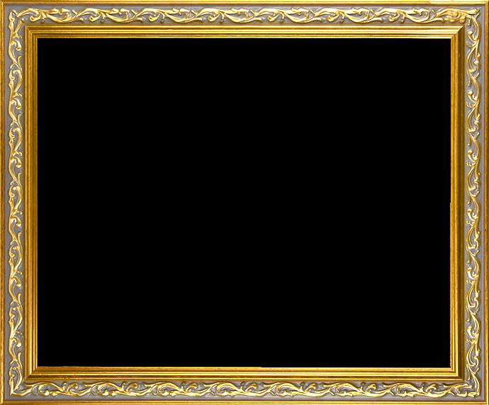 Individueller Bilderrahmen Modell Venedig Farbe Gold Antik