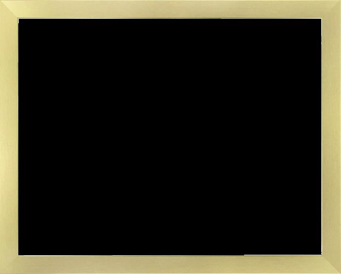 Individueller Bilderrahmen Modell Monaco Farbe Gold geschliffen