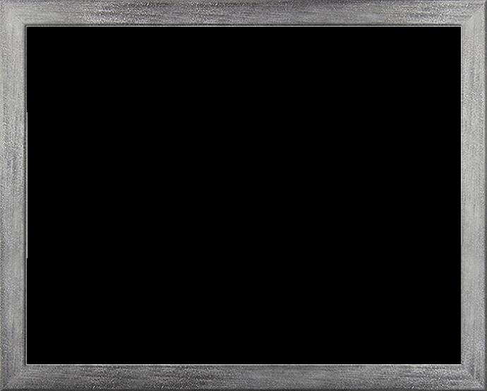 Individueller Bilderrahmen Modell Monaco Farbe Grau gewischt