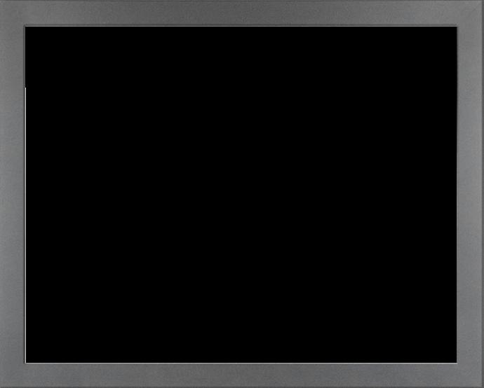 Individueller Bilderrahmen Modell Monaco Farbe Grau Schlicht