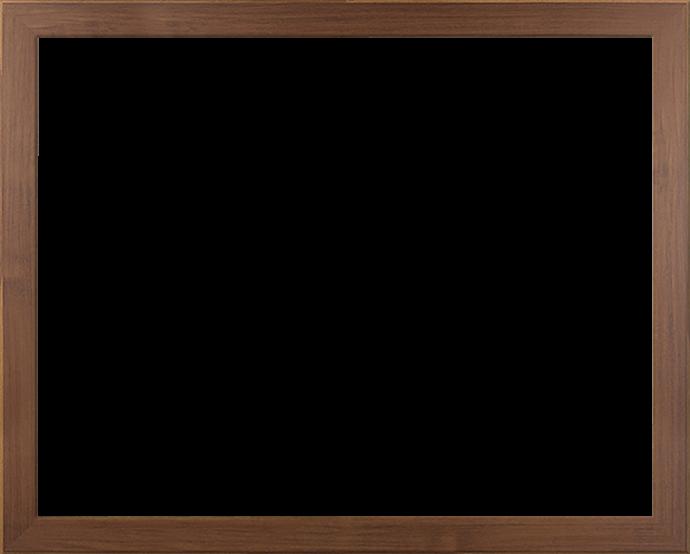 Individueller Bilderrahmen Modell Monaco Farbe Nussbaum Dunkel