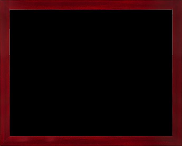 Individueller Bilderrahmen Modell Monaco Farbe Weinrot Gewischt
