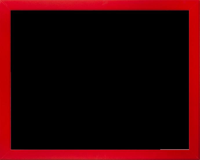 Individueller Bilderrahmen Modell Monaco Farbe Ferrarirot