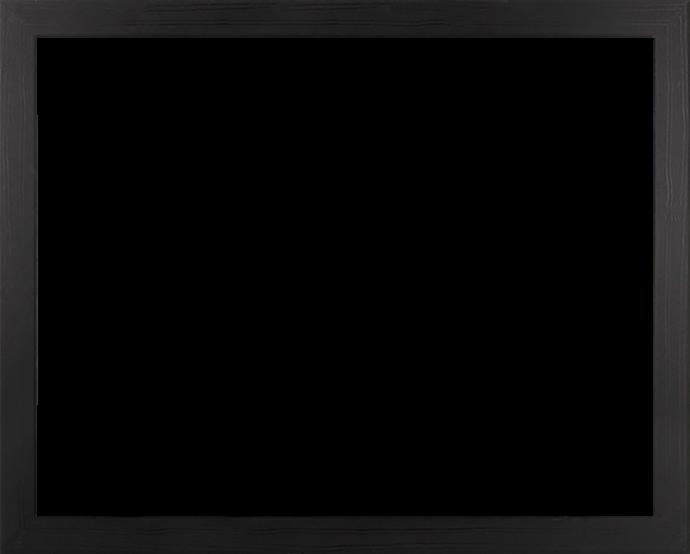 Individueller Bilderrahmen Modell Monaco Farbe Schwarz Gemasert