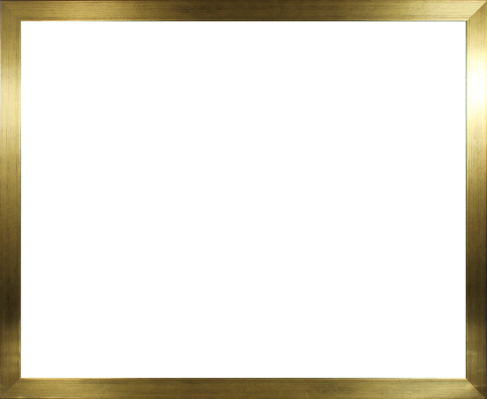 Individueller Bilderrahmen Modell Stralsund Farbe Gold