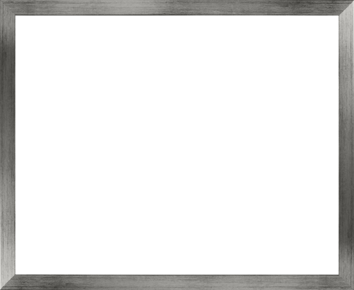 Massivholz Foto-Rahmen Stralsund Sonderformat, Silber