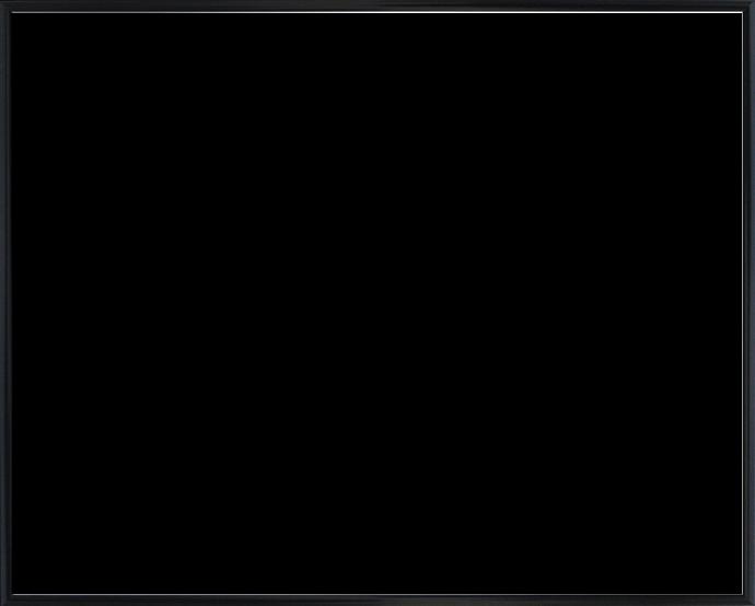 Individueller Bilderrahmen Modell Kingston Farbe Schwarz Matt