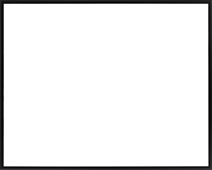 Individueller Bilderrahmen Modell Ottawa Farbe Schwarz Matt
