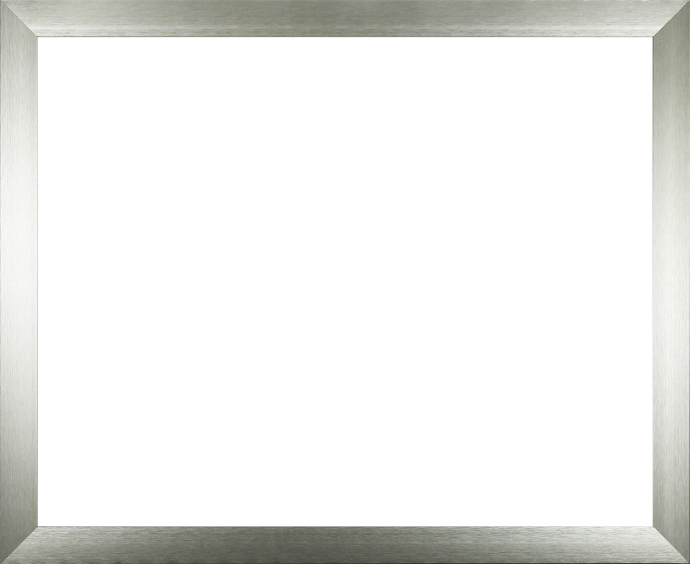 Individueller Bilderrahmen Modell Toronto Alu gebürstet (silber)